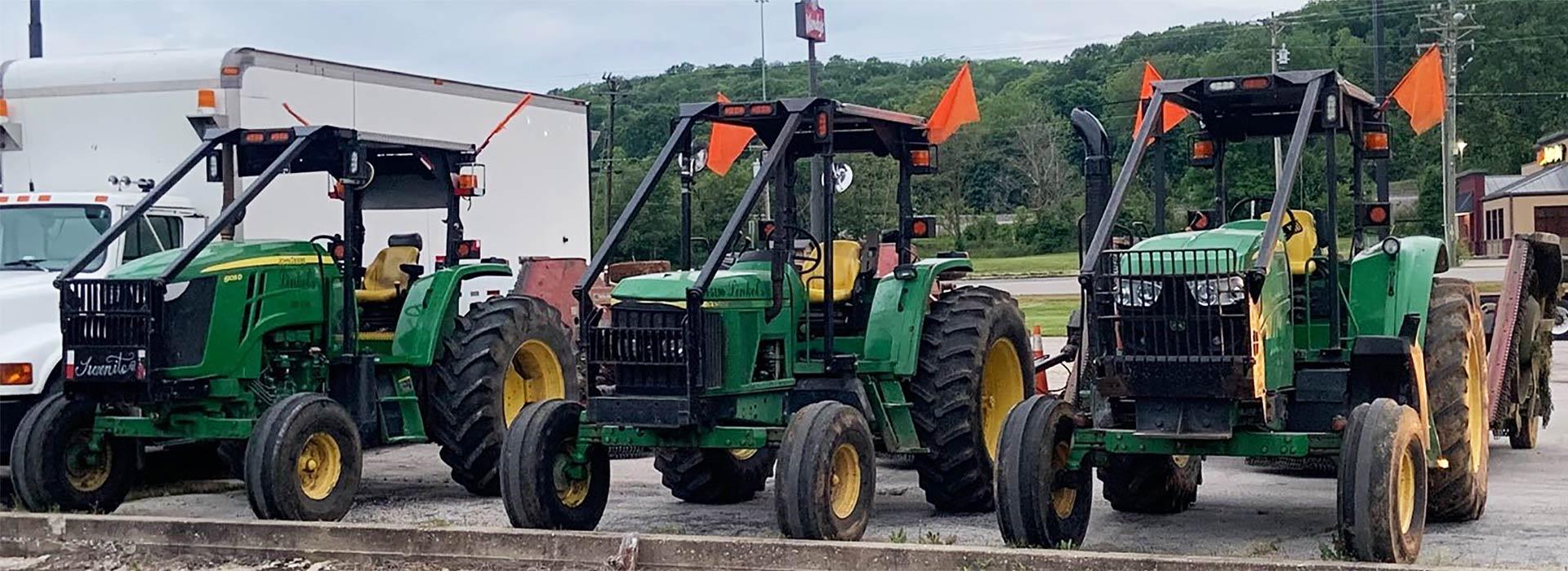 Linkel Company tractors